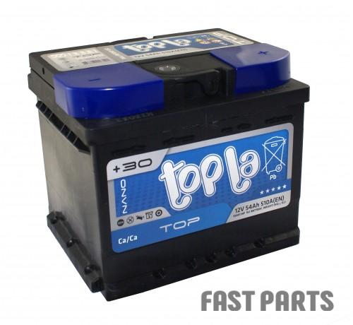 Аккумулятор Topla TOP 54 Ah/510А 12V Euro (0)