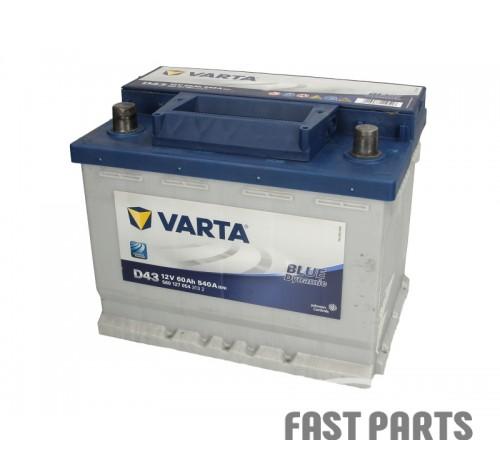 Аккумулятор VARTA B560127054 60Ah/540A