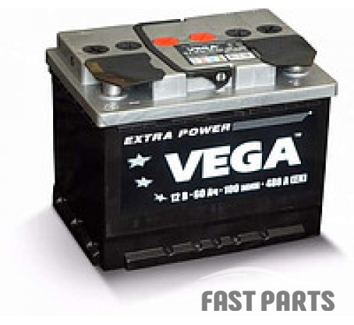 Аккумулятор VEGA 6CT-60Ah (0)