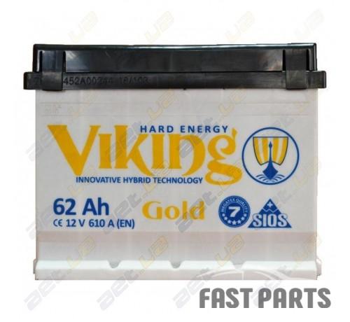 Аккумулятор VIKING Gold 6CT-62Ah (1)