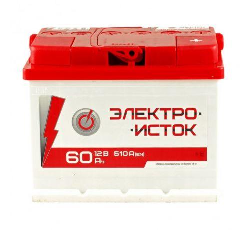 Аккумулятор Электроисток GT Auto 60 Аh/510A 12V АЗ Euro (0)