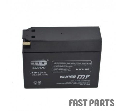 Аккумулятор OUTDO 2,3 Ah GT4B-5 (GEL)/(20х)