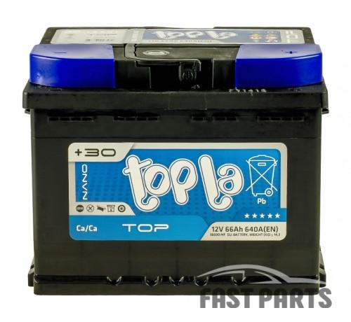 Аккумулятор Topla TOP 66 Ah/640А 12V Euro (0)
