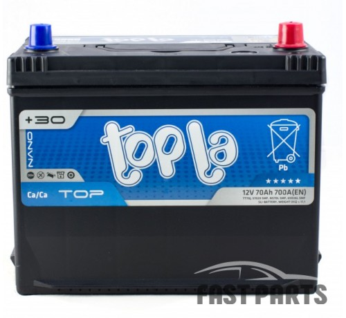 Аккумулятор Topla Top 70Ah/700А 12V  Japan (0)