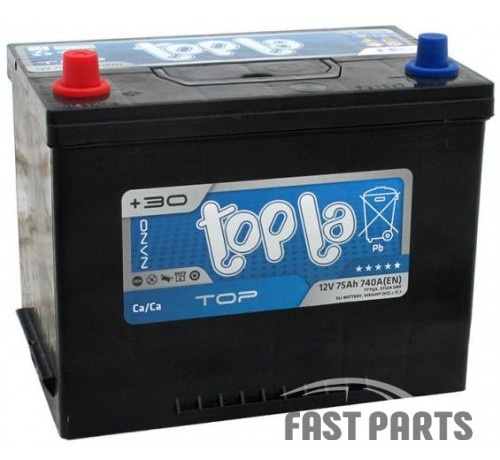 Аккумулятор Topla Top 75Ah/740А 12V  Japan (1)