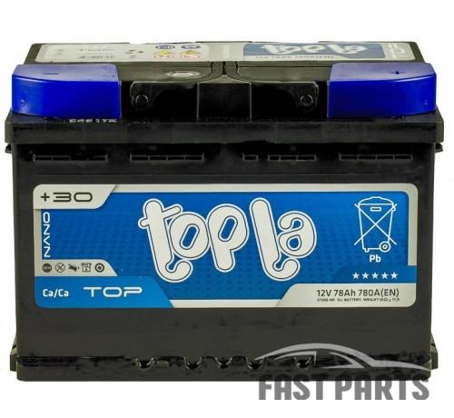 Аккумулятор Topla TOP 78 Ah/780А 12V Euro (0)