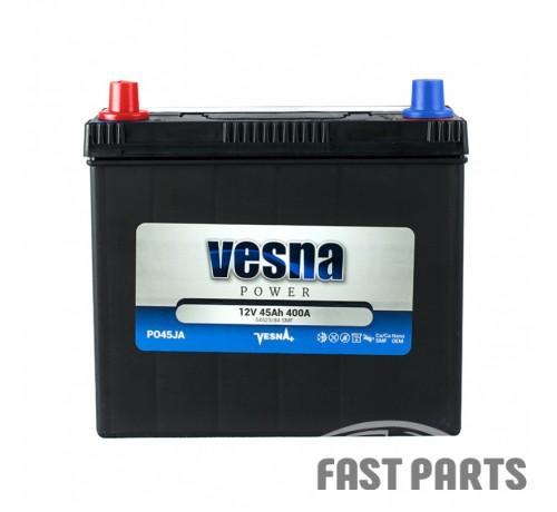 Аккумулятор Vesna 45 Ah/400А 12V Japan (1)