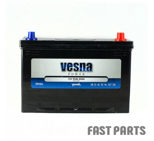 Аккумулятор Vesna 95 Ah/850А 12V Japan (0)