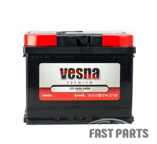 Аккумулятор Vesna Premium 66 Ah/640А 12V Euro (0)