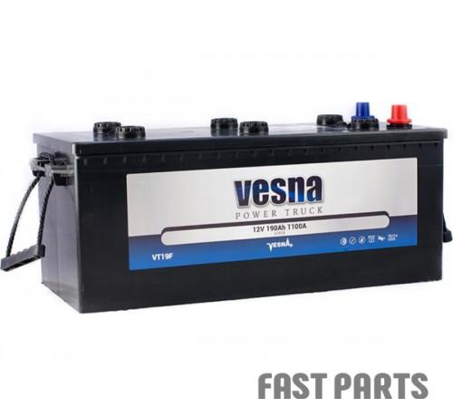 Аккумулятор Vesna Truck 190 Ah/1100А 12V (3)