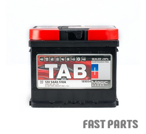 Аккумулятор TAB Magic 54 Ah/510А 12V (0) Euro