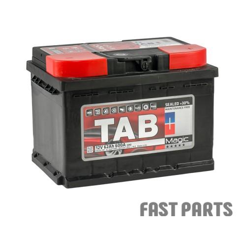Аккумулятор TAB Magic 62 Ah/600А 12V (0) Euro