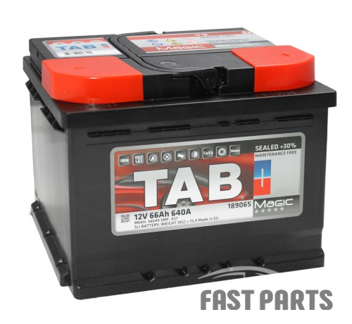 Аккумулятор TAB Magic 66 Ah/640А 12V (0) Euro
