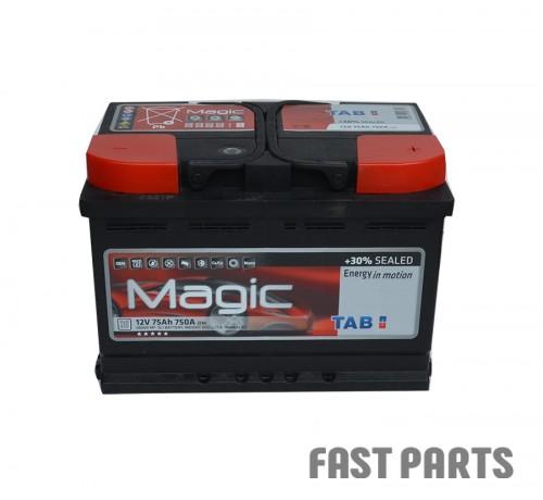 Аккумулятор TAB Magic 75 Ah/750А 12V (0) Euro (Низкий)