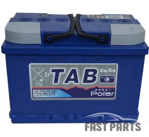 Аккумулятор TAB Polar Blue 75 Ah/750А 12V (0) Euro