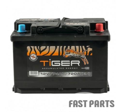 Аккумулятор Tiger 74 Ah/720А 12V  Euro (0)