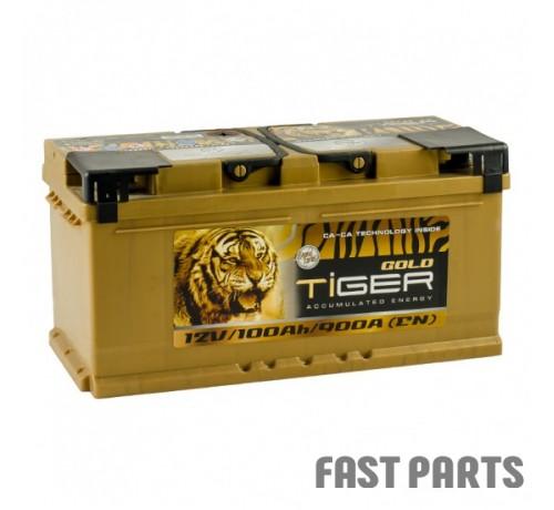 Аккумулятор Tiger Gold 100 Аh/900А 12V Euro (0)