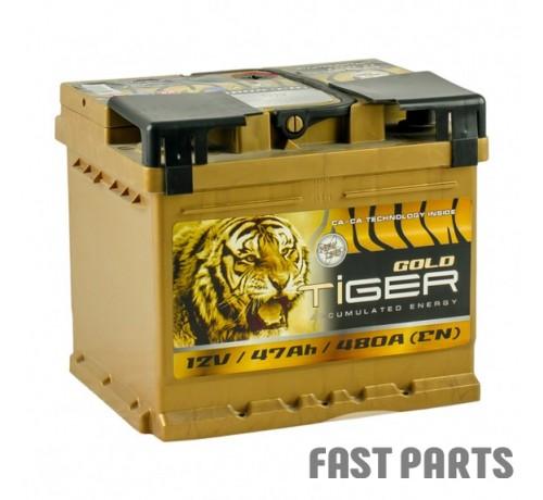 Аккумулятор Tiger Gold 47 Аh/480А 12V Euro (0)
