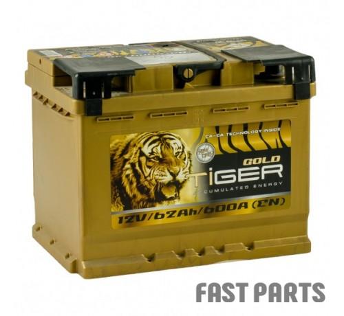 Аккумулятор Tiger Gold 62 Аh/600А 12V (1)