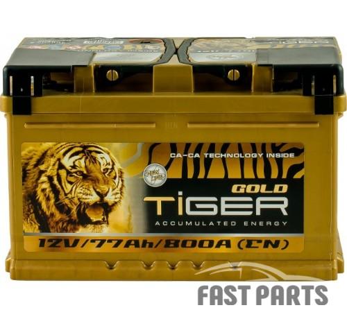 Аккумулятор Tiger Gold 77 Аh/800А 12V Euro (0)