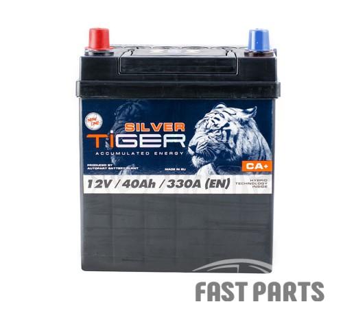 Аккумулятор Tiger Silver 40Аh/330А 12V Japan (1)