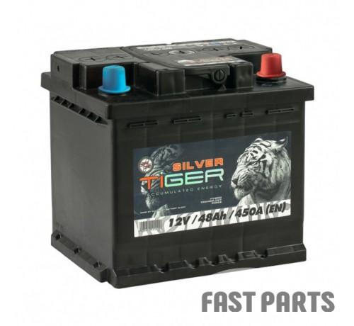 Аккумулятор Tiger Silver 48 Аh/450А 12V Silver Euro (0)