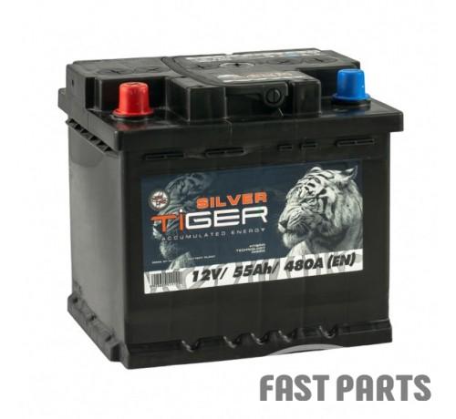 Аккумулятор Tiger Silver 55 Аh/480А 12V (1)