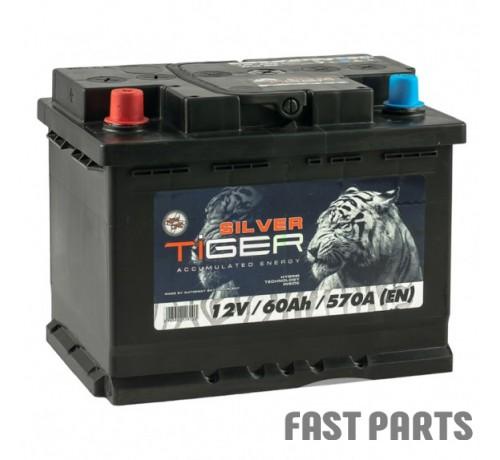 Аккумулятор Tiger Silver 60 Аh/570А 12V (1)