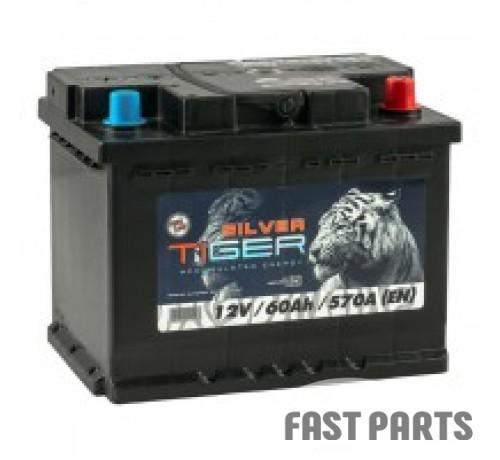 Аккумулятор Tiger Silver 60 Аh/570А 12V Euro (0)