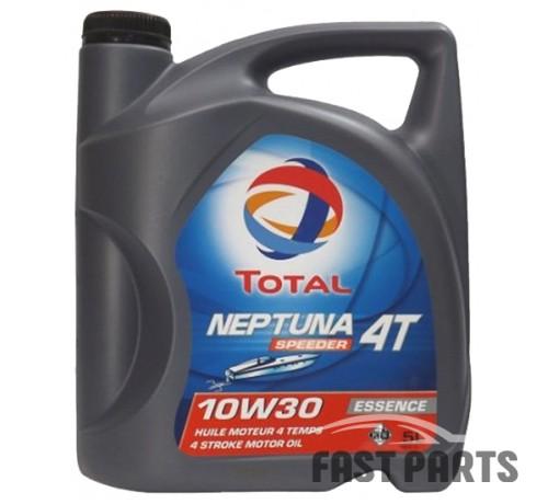 Масло для 4-х тактных двигателей TOTAL NEPTUNA SPEEDER 4T 10W30 5L