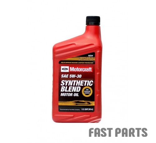 "Масло моторное FORD Motorcraft ""Synthetic Blend Motor Oil 5W-30"", 0.946л XO5W30QSP"