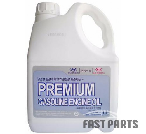 "Масло моторное Hyundai/Kia ""Premium Gasoline 5W-20"", 3л 0510000321"