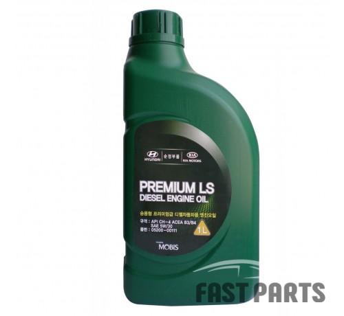 "Масло моторное Hyundai/Kia ""Premium LS Diesel 5W-30"", 1л 0520000111"