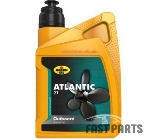 Масло для 2-тактных двигателей ATLANTIC 2T OUTBOARD 1л KROON OIL