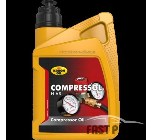 Масло компрессорное Compressol H100 1л KROON OIL