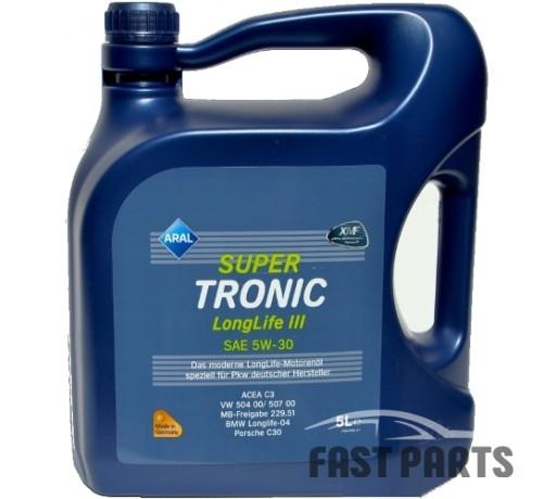 Моторное масло ARAL SuperTronic LongLife III 5W-30 5L