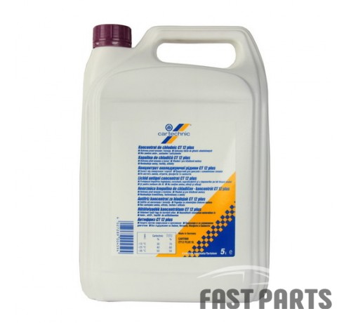 Антифриз CARTECHNIC LIQUIDS CART999 CT12 PLUS 5L (тип G12 +)