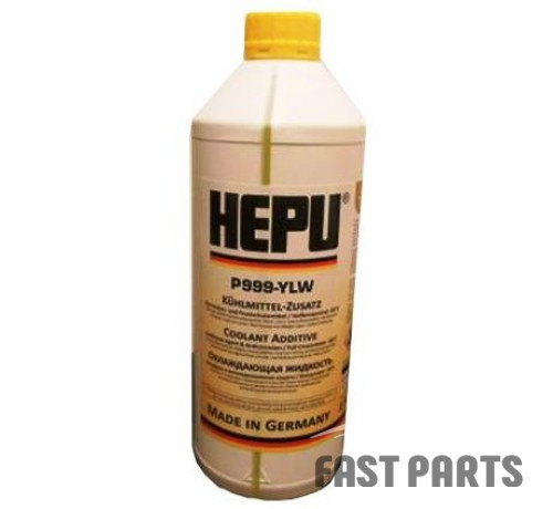 Антифриз HEPU P999 YLW 1.5L (желтый)