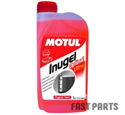 Антифриз (оранжевый) MOTUL 818101/INUGEL OPTIMAL ULTRA (1L)/101069