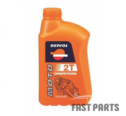 Масло для 2-х тактных двигателей REPSOL MOTO COMPETICION 2T  CP-1  (1Л)