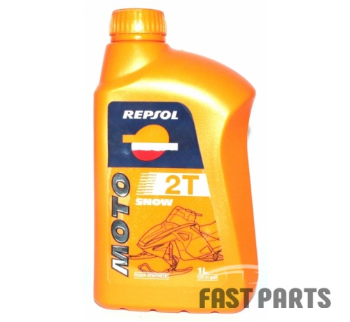 Масло для 2-х тактных двигателей REPSOL MOTO SNOW 2T CP-1 (1Л)