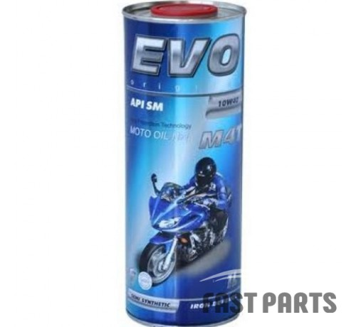 Масло для 4-х тактных двигателей EVO MOTO M4T 10W-40 1L