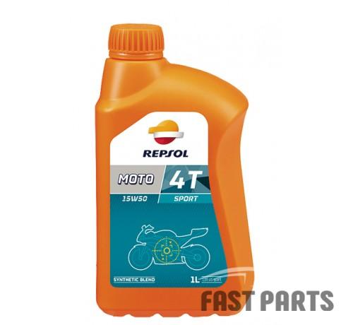 Масло для 4-х тактных двигателей REPSOL MOTO SPORT 4T 15W50 CP-1 (1Л)