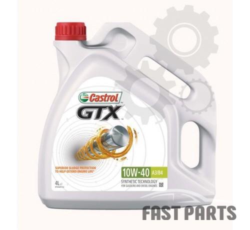 Моторное масло CASTROL GTX 10W40 A3/B4 4L