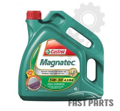 Моторное масло CASTROL MAGNATEC 5W30 A3/B4 4L