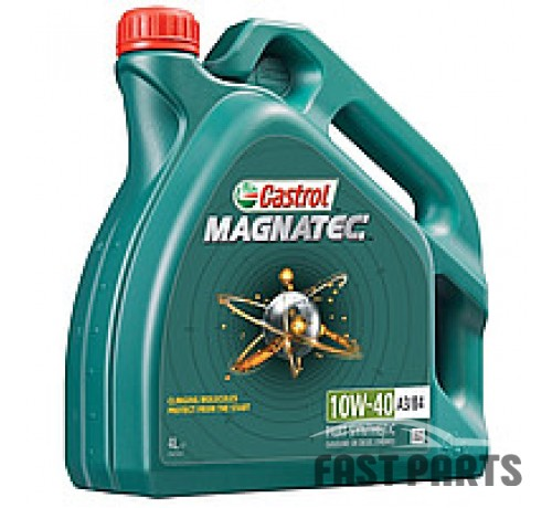 Моторное масло CASTROL MAGNATEC 10W40 A3/B4 4L