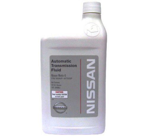 """Трансмиссионное масло NISSAN """"ATF Matic Fluid S"""",  0,946л. 999MPMTS00P"""